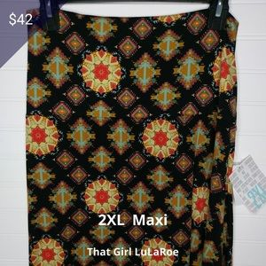 Brand New LuLaRoe Maxi Skirt!!